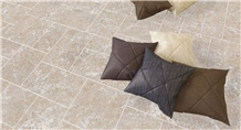Cleopatra Marble Sandblasted- Brushed French Pattern Floor Tiles