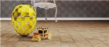 Cleopatra Rosa Tumbled- Chiseled Edge Floor Tiles