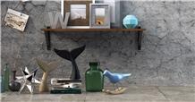 Spalya Silver Marble Brushed Floor Tiles