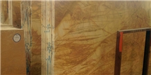 Usak Antique Gold Marble Polished Slabs