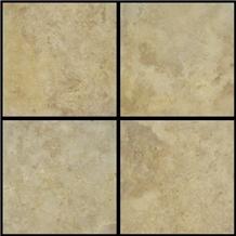 Golden Sienna Travertine Slabs, Tiles