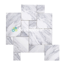 Samistone Rain Clouds Grey Marble French Pattern