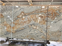 African Canyon Granite Slabs, Namibia Gold Granite
