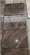 Dark Emprador Slabs & Tiles, Turkey Brown Marble