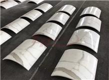 Marmi Bianco Calacatta White Marble Column