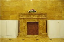 Roman Gold Marble Slab, Italy Yellow Marble Tile