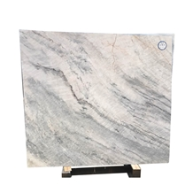Natural White Marble Floor Wall Tile Spring Land Marble