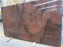 California Red Dragon Granite Slabs & Tiles, China Red Granite
