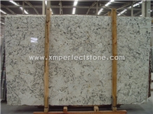 Granite Specification Ice Flower Blue Stone Slab