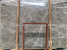 Hermes Grey with White Veins Marble Stone Slab