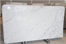 Calacatta Extra White Marble Slabs, Calacatta Michelangelo White Marble