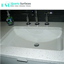 Engineered White Cheap Quartz Stone Commercial Counters