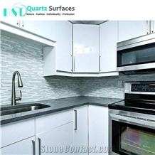 Wholesale Grey Sparkle Quartz Stone Countertop