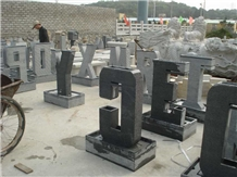 Natural Stone Garden Fountain-Letter Series for Decoration