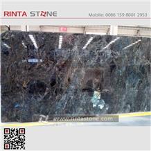 Labradorite Blue Granite Madagascar Gangsaw Slabs