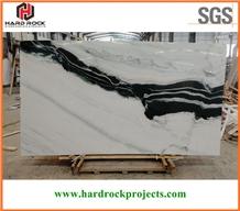 China Panda White Marble Slabs