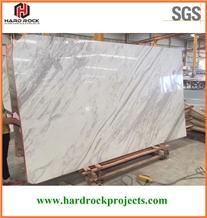 Volakas White Marble Tiles & Slabs/Flooring/Walling/Wall/Floor/China