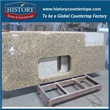 New Ventian Golden on Sale Worktops Granite Kitchen Countertop
