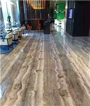 Tajrish Travertine for Interial and Exterial Wall and Floor Covering