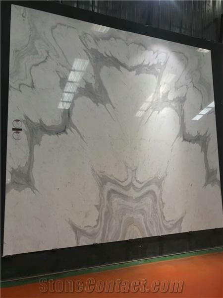 Volakas White Marble Slab Tiles Cut To