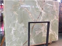 Iran Green Onyx Slabs & Tiles