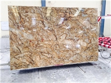 Alaska Gold Granite Slabs & Tiles