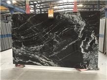 Forest Black Granite Tiles & Slabs