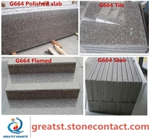 Original G664 Granite Slabs/Tiles for Steps