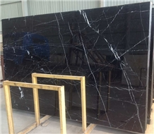 Black Nero Marquina Marble Slabs