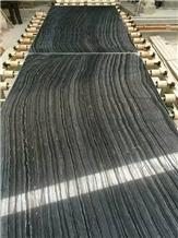 Black Wood Marble Slab,Black Forest Marble Tile