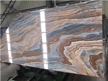 Roman Impression Marble Slab,Bookmatching Marble