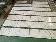 Statuario and Calacatta White Marble Tile & Slab