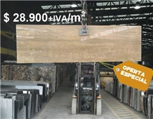 Travertino Al Agua Slab Price Special Offer
