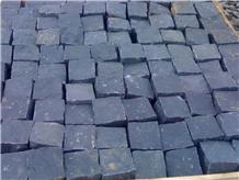 Black Basalt Blocks Cobbles Cobblestone Cube Stone