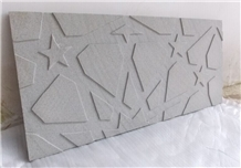 Grey Honed Limestone Kitchen Tiles French Pattern