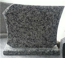 Seawave White Granite Tombstone Monument Headstone