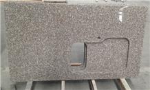 G664 Granite Kitchen Countertop Bainbrook Brown