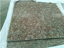 G687 Pink Polished Granite Tiles, China Winggreen