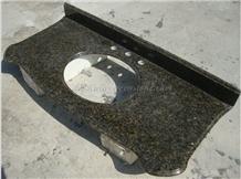 Ubatuba Granite Countertop, Custom Countertop