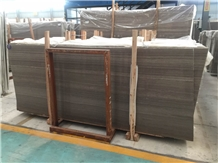 Antique Brown Wooden Marble Slabs