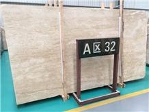 Building Material Stone Cream White Travertine