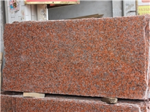 Cut to Size Chinese Maple Red Granite Slabs
