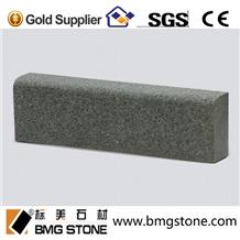 Outdoor Grey Flamed G654 Granite Kerbstone