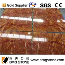 Red Agate Marble Cut to Size Tiles
