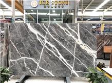 Skyfall Grey Marble Carso Grey Polished Slabs&Tile