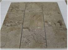 Pakistan Sahara Beige Marble Polished Tiles