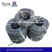 11.5mm Rubber Diamond Wire Saws for Granite Quarry