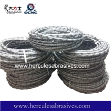 8.8mm Plastic Diamond Wire Rope for Granite Cut