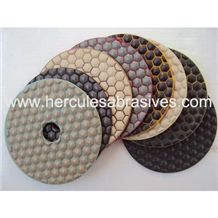 Dry Polishing Pad for Stone with Low Noise