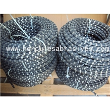 Rubber with Spring Diamond Wire Saw for Concrete
